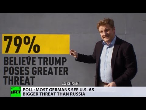Trump not Putin is greater threat to world peace – German poll