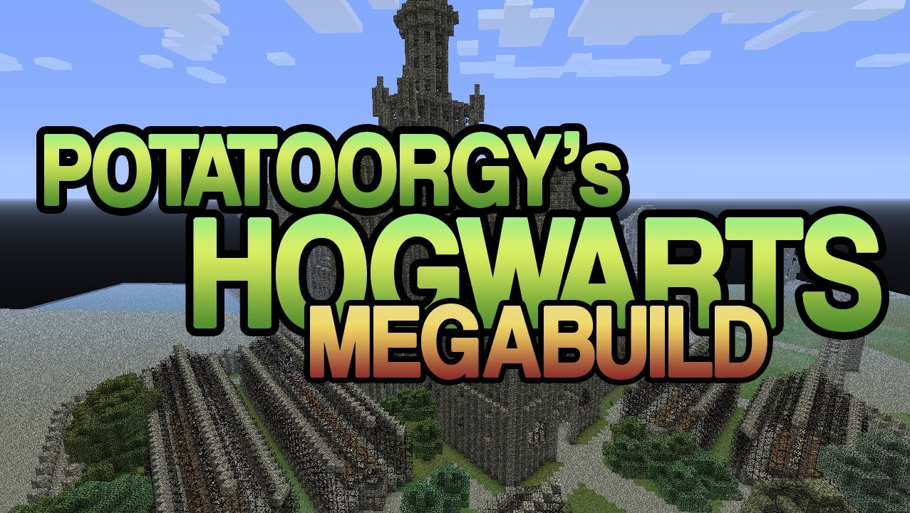 minecraft potatoorgy hogwarts