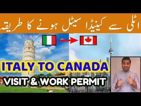 How To Get CANADA Visa From ITALY