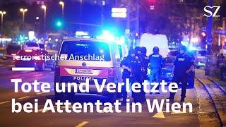 Tote und Verletzte bei Terroranschlag in Wien