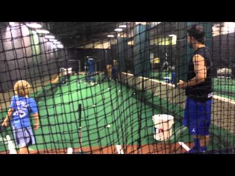 Eric Hosmer Batting Lesson 2015
