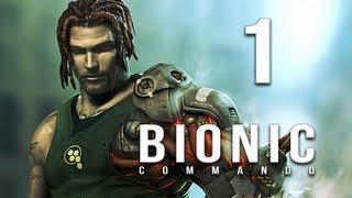 Bionic Commando Let's Play Part 1 - Ascension City