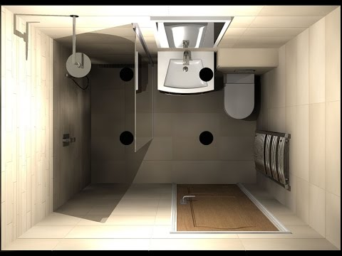 Small shower room layout design ideas youtube for Small room layout ideas