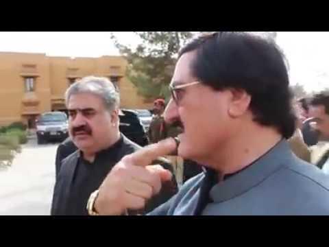Cm Balochistan Nawab Sanaullah Zehri and Nawab Ayaz Jogezai