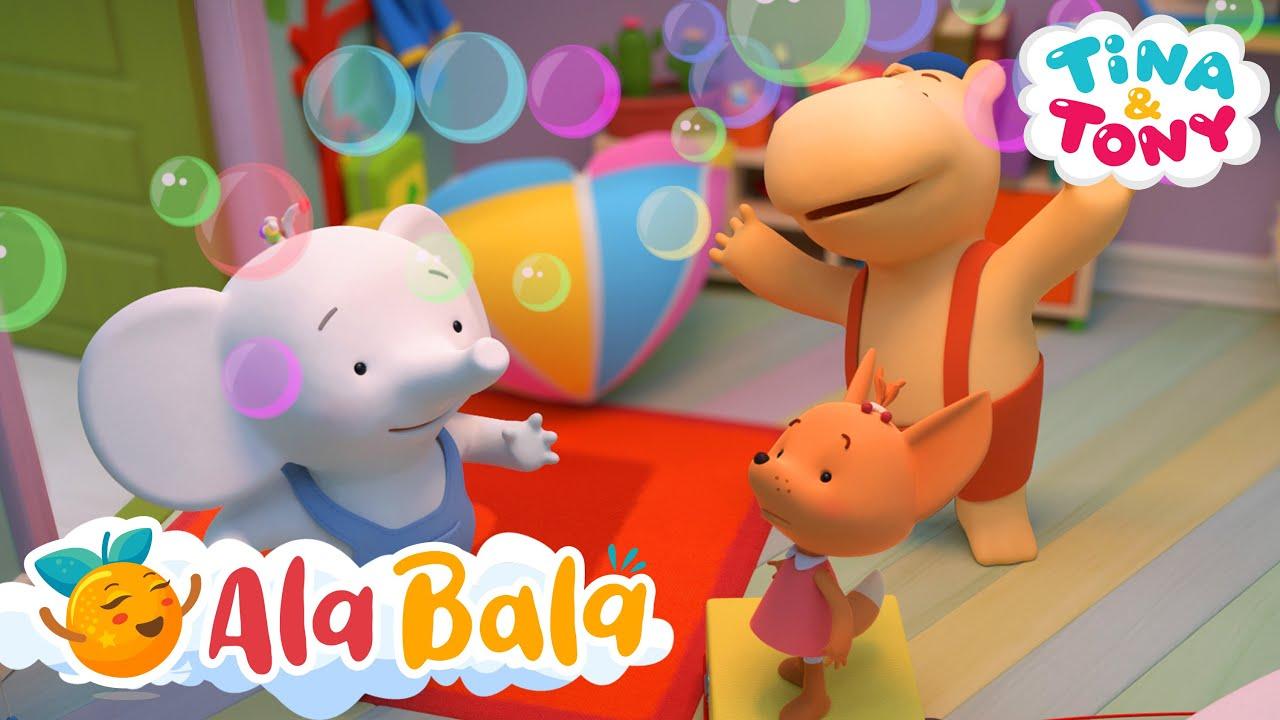 Tina si Tony - Excavațiile +30MIN desene animate educative pentru copii AlaBala