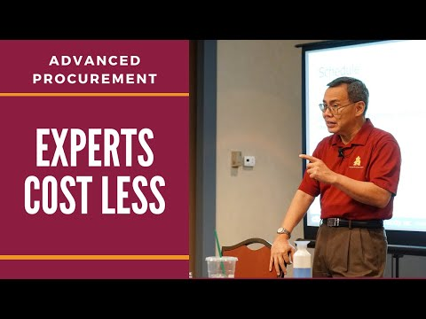 Experts Cost Less - The Danger of Using Contingency   Free Procurement Course