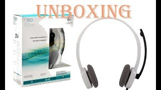Logitech H150 Stereo Headset Unboxing