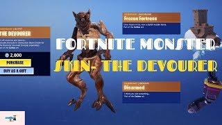 Fortnite Monster skin concept - The Devourer