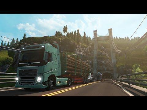 Euro Truck Simulator 2 Scandinavia - Kristiansand to Bergen