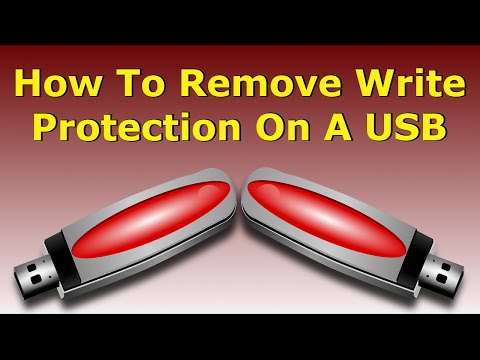 How to Format a Write-protected USB Flash Drive/Pen Drive