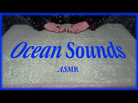 Ocean Sounds ASMR With Fabric