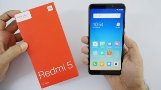 Redmi 5 Budget Smartphone Unboxing & Overview (Indian Unit)