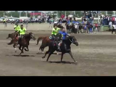 Kyrgyzstan's national sports Horseback Rugby 3