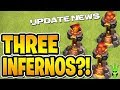 WE'RE GETTING A 3rd INFERNO TOWER?! + MORE CHANGES COMING TO