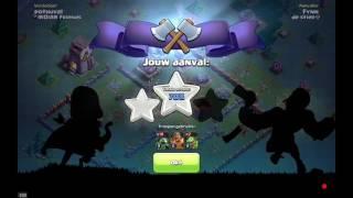 Een hele goeie strategie om mee aan te vallen (clash of clans)