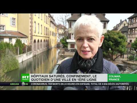 Coronavirus - Colmar: «Je lance un appel aux Alsaciens, aux Français, pour qu'ils restent chez eux»