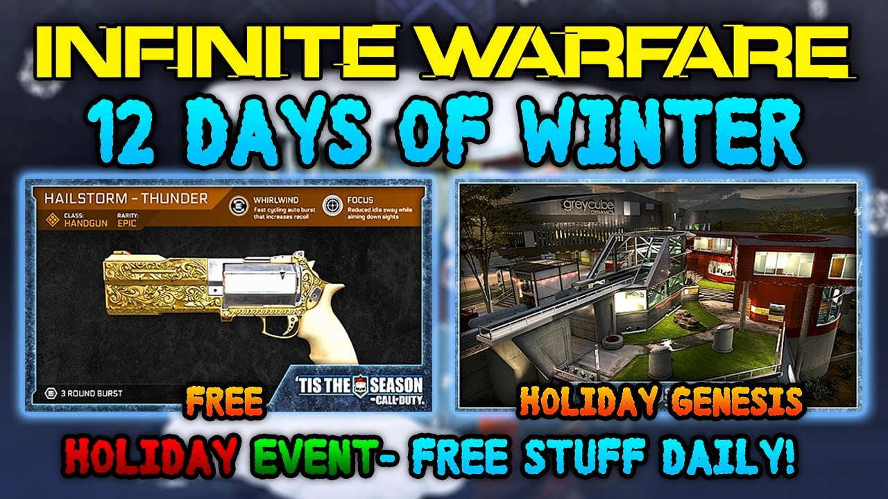 Infinite Warfare Holiday Event: 12 Days of Winter! - FREE EPIC ...