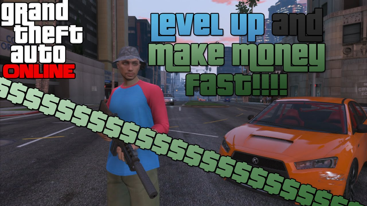 how to level up and make money fast on gta online legit and easy all platforms youtube