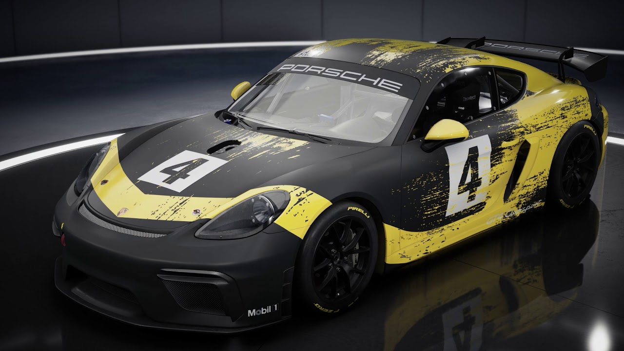 Assetto Corsa Competizione GT4 Pack: Introducing the Porsche 718 Cayman GT4 Clubsport