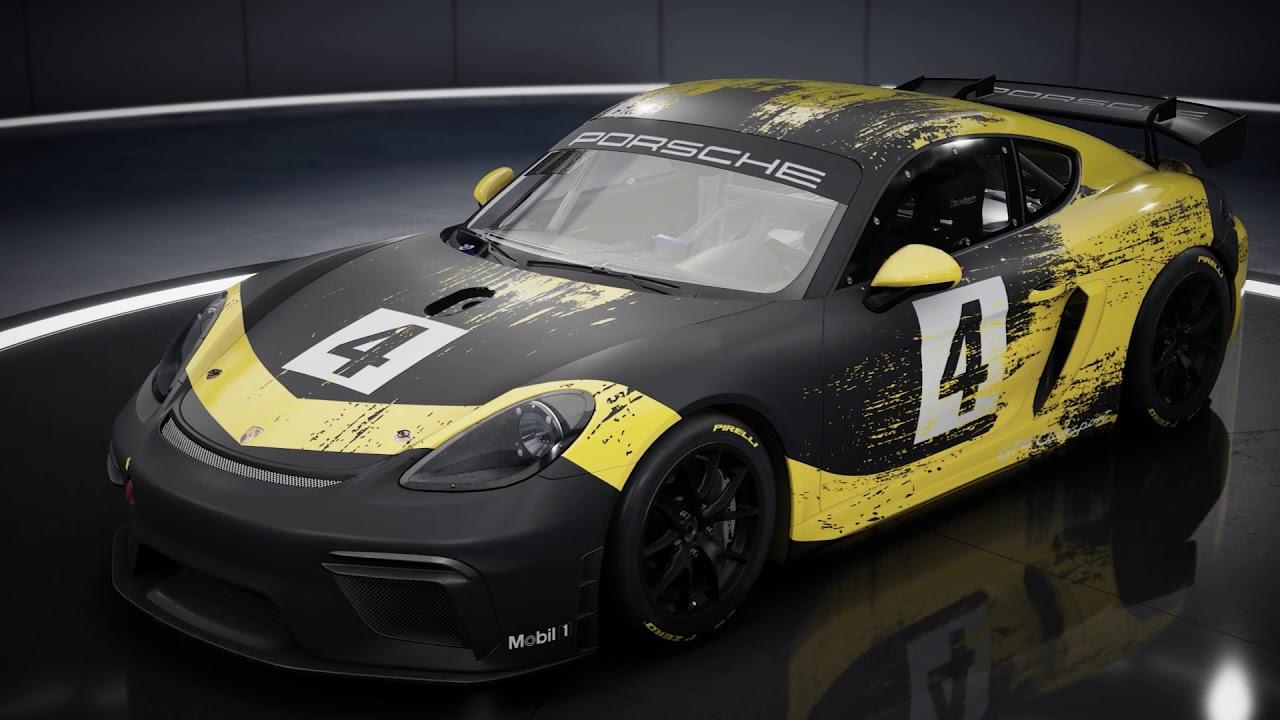 Assetto Corsa Competizione: Porsche 718 Cayman GT4 Clubsport