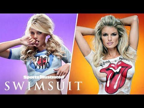 Marisa Miller, Tori Praver & More Go Bare In Rock & Roll Body Paint | Sports Illustrated Swimsuit