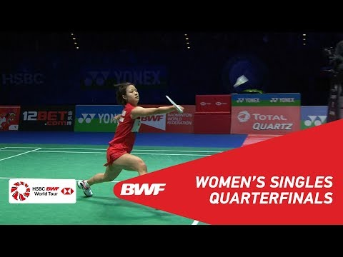 QF | WS | LI Xuerui (CHN) vs Nozomi OKUHARA (JPN) [2] | BWF 2019
