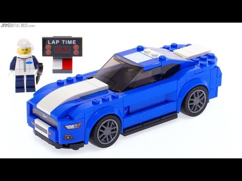 LEGO Speed Champions Ford Mustang GT (2015+) review! 75871 - YouTube