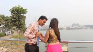 How to Kiss| Bangla hot video Resmi alon & kasem mondol