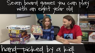 Family Board Games for ages 8 and up - hand picked by a kid