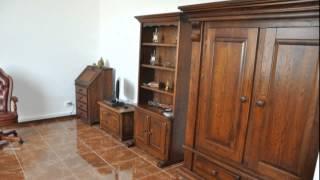 Комплект мебели для офиса. Массив дуба.(Мебель для дома. Furniture for home. Эксклюзивная мебель из натурального дерева, массив дуба. Ручная работа с элемен..., 2015-02-28T00:44:04.000Z)