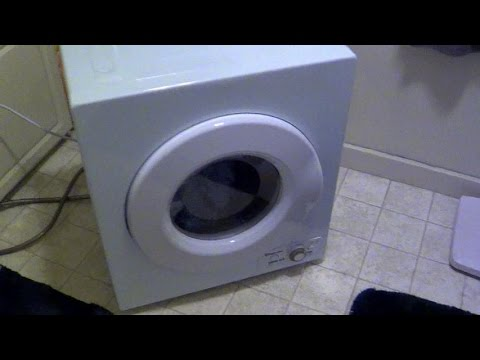 First Impressions Of The Magic Chef Portable Dryer   YouTube