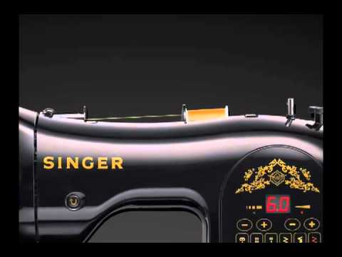 SINGER 40 Anniversary Limited Edition Computerized Sewing Machine Cool Singer Heritage 8768 Sewing Machine