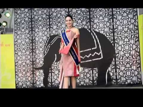 """[News] Miss Thailand at """"Thai Festival"""" by Thai News Agency"""