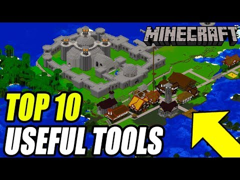 Top 10 Minecraft Programs YOU SHOULD Be Using! (Mapping Tools & More)