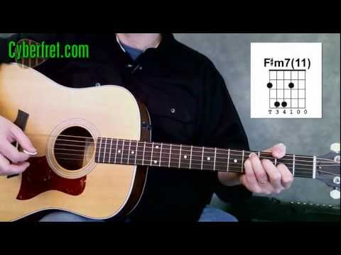 Fm11 Or Fm711 Guitar Chord Youtube