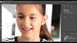 Ретушь портрета. Простая и быстрая ретушь.Фотошоп для начинающих. Уроки Photoshop.