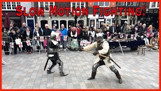 Medieval Fighting - Slow-Motion!