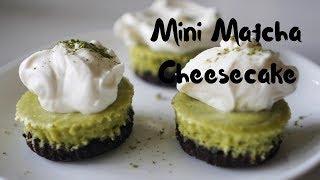 Mini  Matcha Chesecake - Treats By Jenny