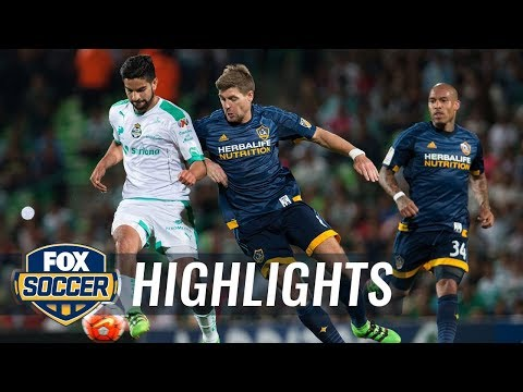 Santos Laguna vs. LA Galaxy | CONCACAF Champions League Highlights