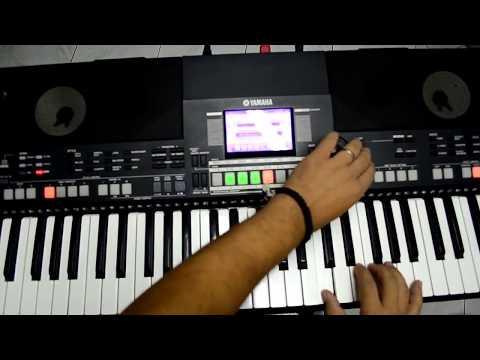Como criar ritmo no Yamaha s550b