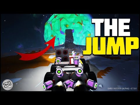 Can You Jump A Rover To Another PLANET?! Massive Jump and Space Walk! Astroneer Update | Z1 Gaming