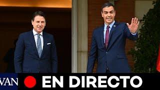 DIRECTO: Pedro Sánchez y Giuseppe Conte comparecen en la XIX Cumbre hispano-italiana