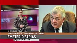 Telleres y Liga Cordobesa   Emeterio Farias en El Show En La Red  05 10 2020