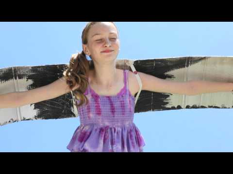 Mockingjay Wings Commercial by Actress Mikayla Shae Chapman