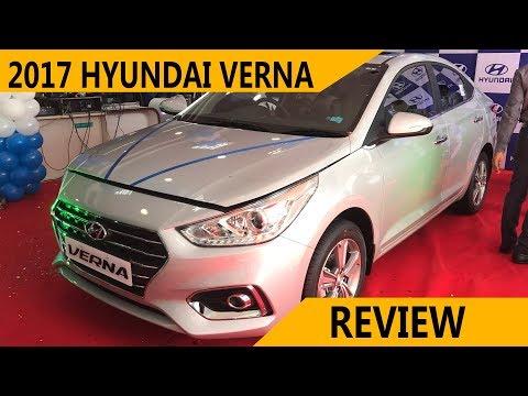 Hyundai Verna 2017 Review India 2017 Verna Features Hindi