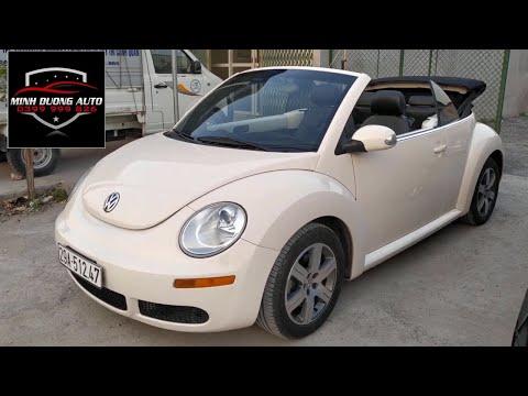 VolksWagen The New Beetle 2005, xe mui trần hai cửa cực chất. Giá chỉ hơn 300tr.