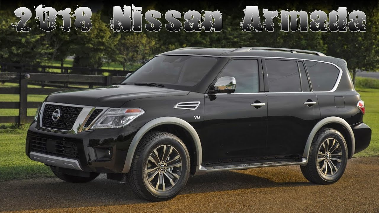 2018 nissan usa. Interesting Usa New 2018 Nissan Armada Fullsize SUV USA Specs And Prices Review On Nissan Usa