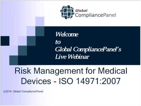 Medical Devices - ISO 14971 : Risk Management