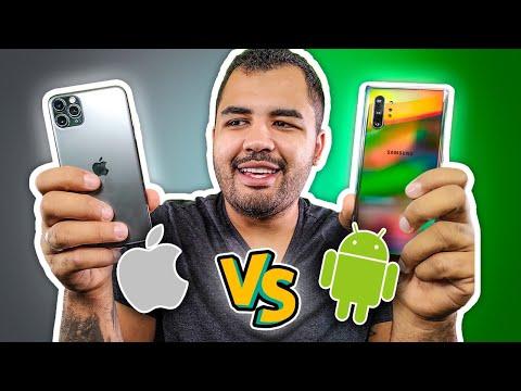 IPHONE VS ANDROID - QUAL ESCOLHER?