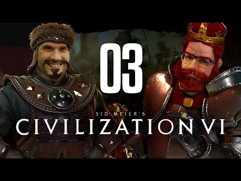 Aggressive Kampfhandlungen und militärische Antworten | Civilization VI | Nils gegen Dennis #02